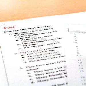 Corso individuale online di preparazione esami di certificazione lingua Inglese